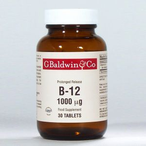 Baldwins B12 1000mcg (prolonged Release) 30 Tablets
