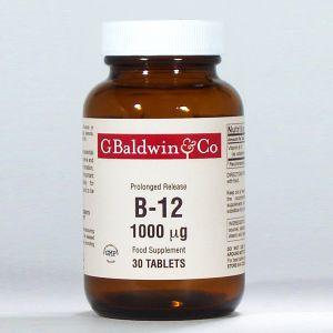 Baldwins B12 1000mcg (prolonged Release) 30 Tablets