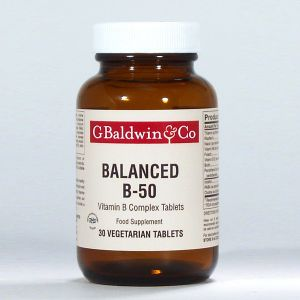 Baldwins Balanced B-50 30 Tablets