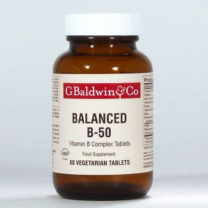 Baldwins Balanced B-50 60 Tablets
