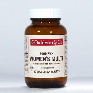 Baldwins Women's Advanced Multi (food Rich) 90 Vegetarian Tablets