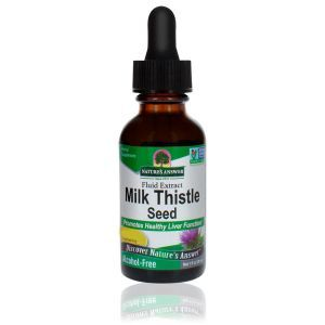 Natures Answer Milkthistle Alcohol Free Fluid Extract 30ml