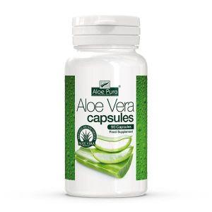 Aloepura Aloe Vera 12000mg Capsules 90 Gelatine Capsules