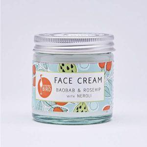 Laughing Bird Baobab & Rosehip Face Cream With Neroli