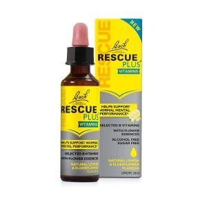 Bach Flower Remedy Rescue Plus Dropper 20ml