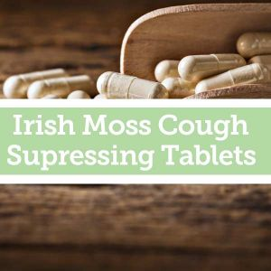 Baldwins Remedy Creator - Irish Moss Cough Suppressing Tablets