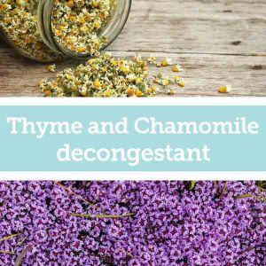 Baldwins Remedy - Creator Thyme and Chamomile Decongestant