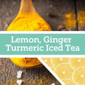 Baldwins Remedy Creator - Lemon Ginger Turmeric Iced Tea