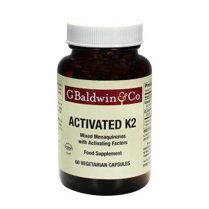 Baldwins Activated K2 Mixed Menaquinones 60 Vegetarian Capsules