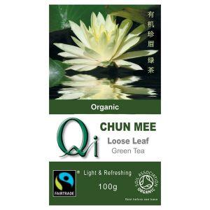 Qi Organic Chun Mee China Green Tea Loose 100g