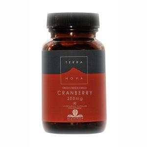 Terranova Cranberry (freeze Dried) 50 Vegetarian Capsules