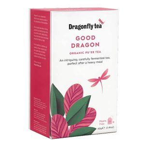 Dragonfly Tea Good Dragon Organic Pu'er Tea 20 Sachets