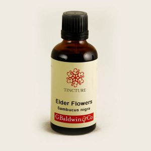 Baldwins Elderflower ( Sambucus Nigra ) Herbal Tincture