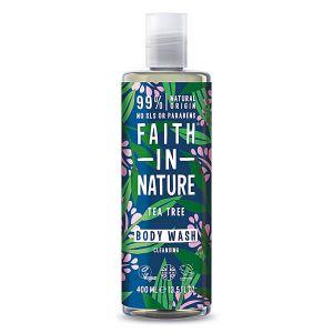 Faith In Nature Tea Tree Bodywash 400ml