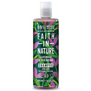 Faith In Nature Lavender And Geranium Shampoo 400ml