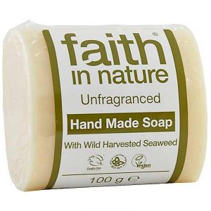 Faith In Nature Unscented Seaweed Soap 100g