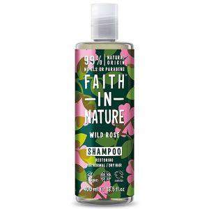 Faith In Nature Organic Wild Rose Shampoo 400ml
