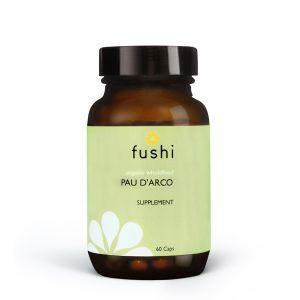 Fushi Organic Wholefood Pau D'Arco 60 Vegetarian Capsules