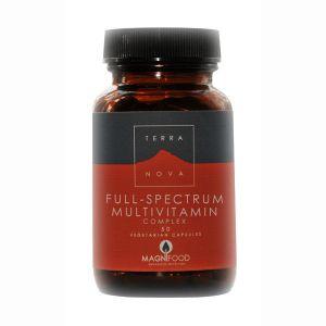 Terranova Full Spectrum Multivitamin Complex 50 Vegetarian Capsules