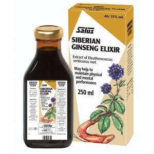 Salus Siberian Ginseng Elixir 250ml