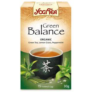 Yogi Green Balance Organic Tea 17 Bags