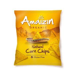 Amaizin Corn Chips Natural 75g
