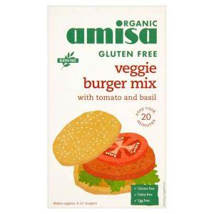 Amisa Organic Gluten Free Veggie Burger Mix 140g