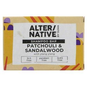 Alter/Native by Suma Patchouli & Sandalwood Shampoo Bar 90g