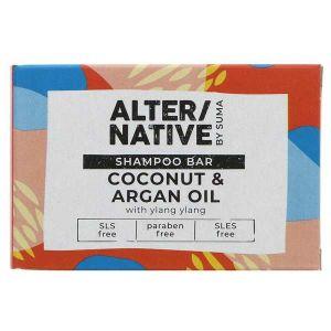 AlterNative by Suma Coconut & Argan Shampoo Bar 90g