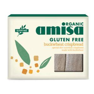 Amisa Organic Buckwheat Crispbread 120g