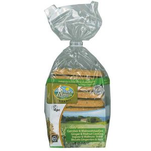 Billy's Farm Organic Spelt Ginger and Walnut cookies 175g
