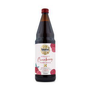 Biona Pure Organic Cranberry Juice 750ml