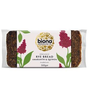 Biona Organic Amaranth Quinoa Rye Bread 500g