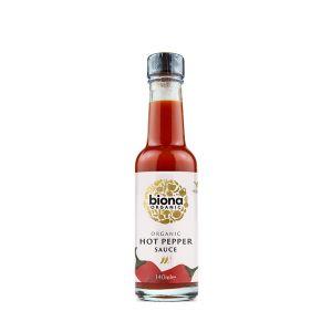 Biona Organic Hot Pepper Sauce 140ml