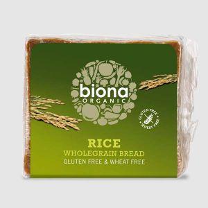Biona Organic Gluten and Wheat Free Wholegrain Rice Bread 500g