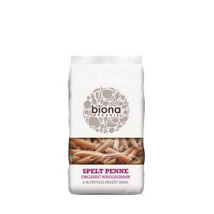 Biona Organic Wholegrain Spelt Penne Pasta 500g