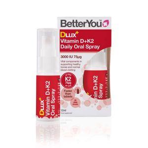Better You Vitamin Dlux+ Vitamin D (3000iu) and K2 12ml