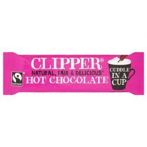 Clipper Fairtrade Hot Chocolate Sachet 28g