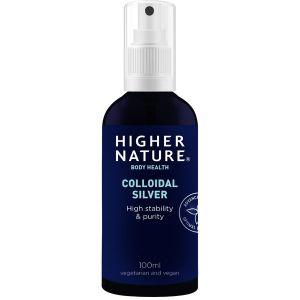 Higher Nature Colloidal Silver 100ml Spray