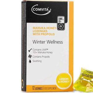 Comvita Propolis Lozenges with Lemon & Honey 12 Lozenges