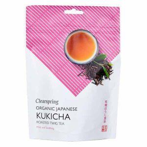 Clearspring Organic Kukicha Japanese Roasted Twig Tea Loose 90g