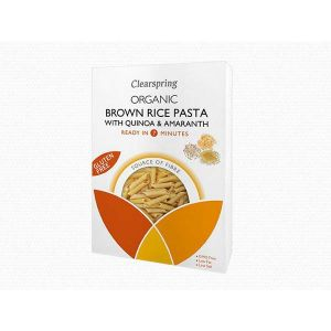 Clearspring Organic Brown Rice Pasta with Quinoa & Amaranth 250g