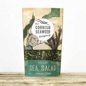 The Cornish Seaweed Company Organic Sea Salad Seaweed Flakes 30g
