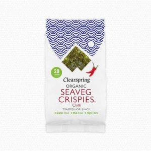 Clearspring Organic Seaveg Crispies Chilli 4g