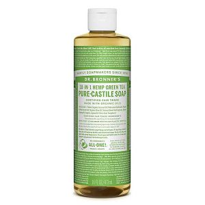 Dr.bronner's 18-in-1 Green Tea Pure Castille Soap 473ml
