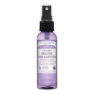 Dr. Bronners Organic Lavender Hand Sanitiser  60ml