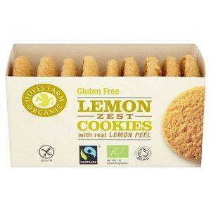 Doves Farm Lemon Zest Cookies 150g