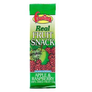 Frutina Dried Real Fruit Snack Apple & Raspberry 15g
