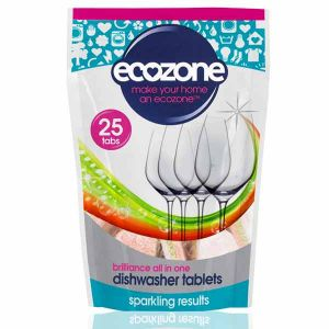 Ecozone Classic Dishwasher Tablets 25 Tabs