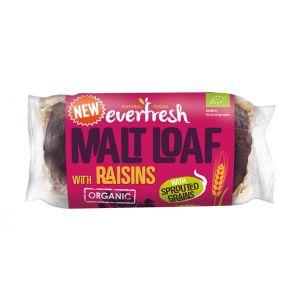 Everfresh Organic Malted Raisin Loaf 330g